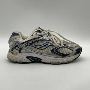 Saucony Womens Running Shoes Gray Lace Up Size 9.5